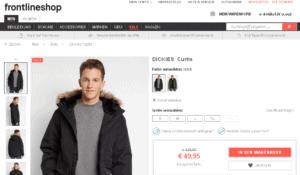 Deal - DICKIES  Jacke Curtis im Angebot