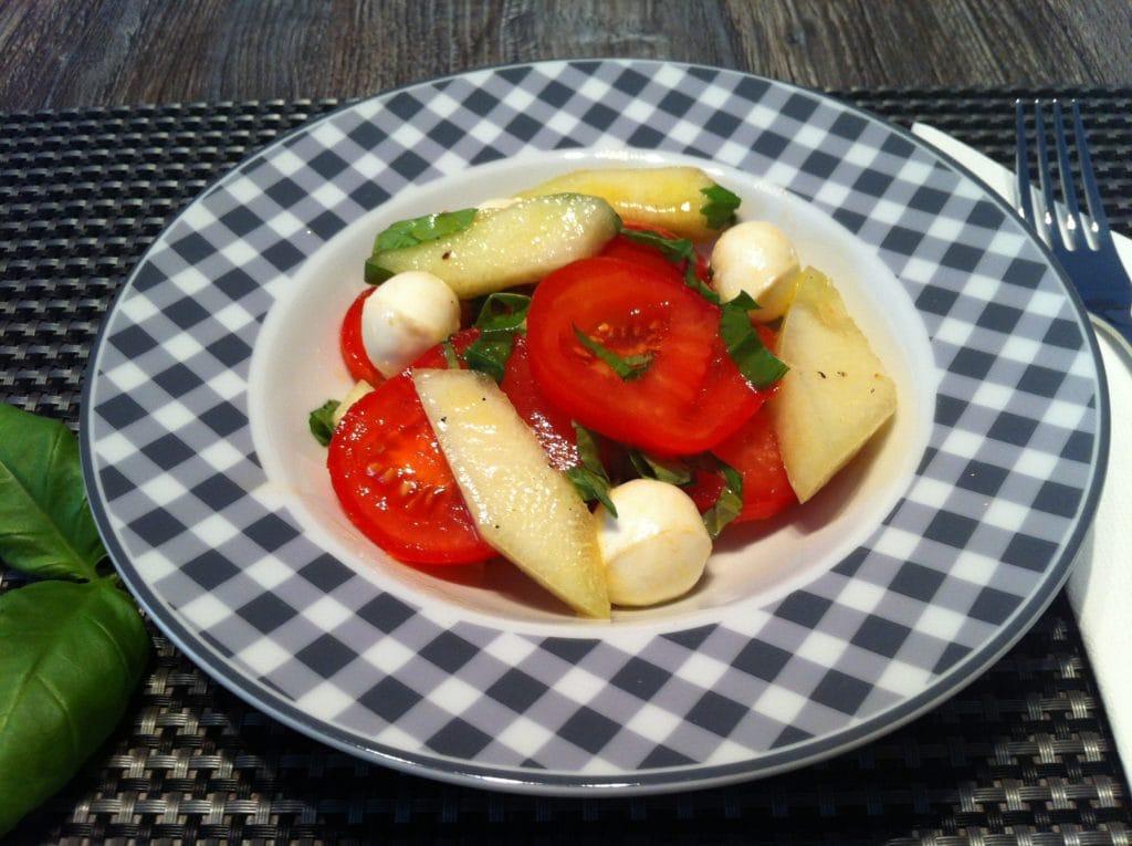 High Carb Tomaten Melonen Salat1