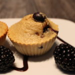 Die High Protein Blaubeer Muffins
