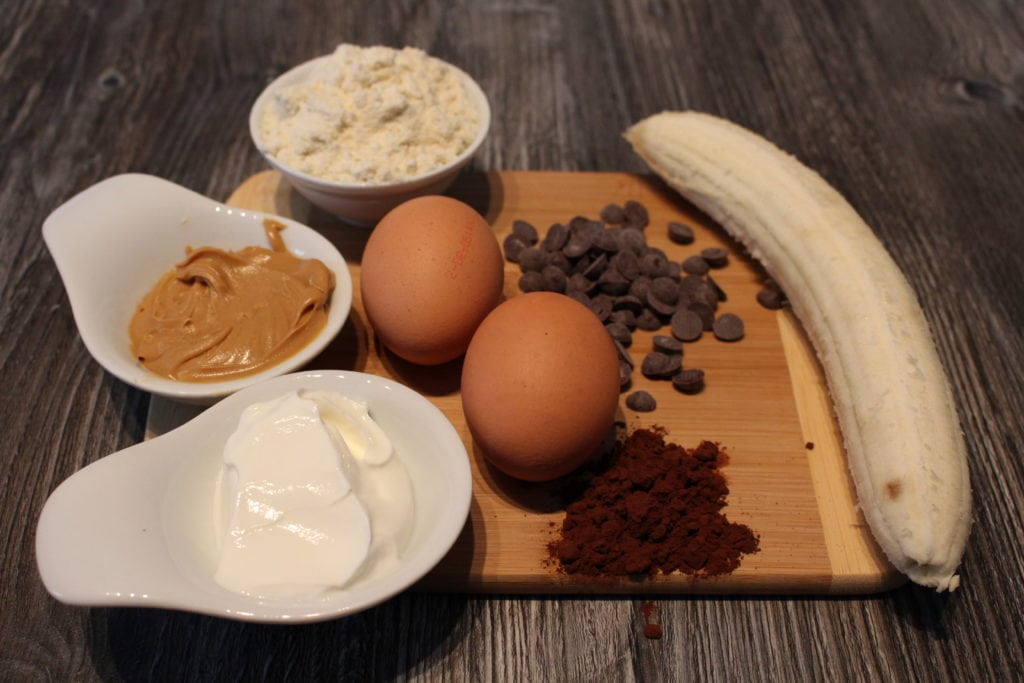 Der Protein Schokomuffin