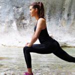 Richtiges Dehnen Sport Fitness Training