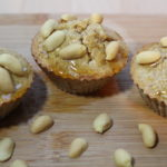 Der High Carb Erdnuss Muffin