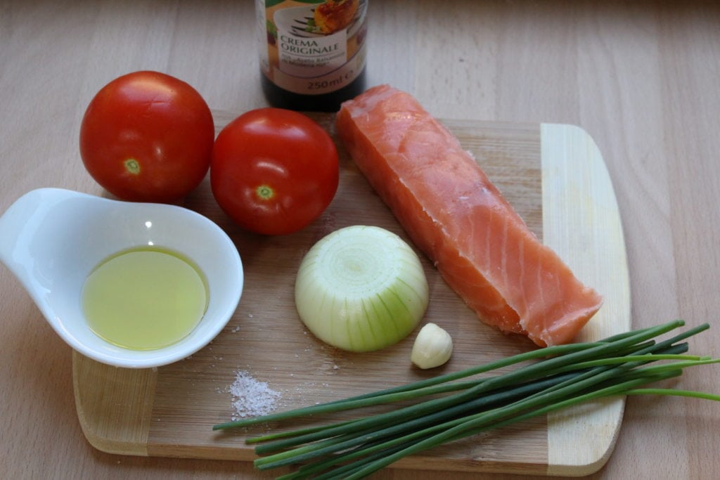 Das Low Carb Lachs Bruscetta