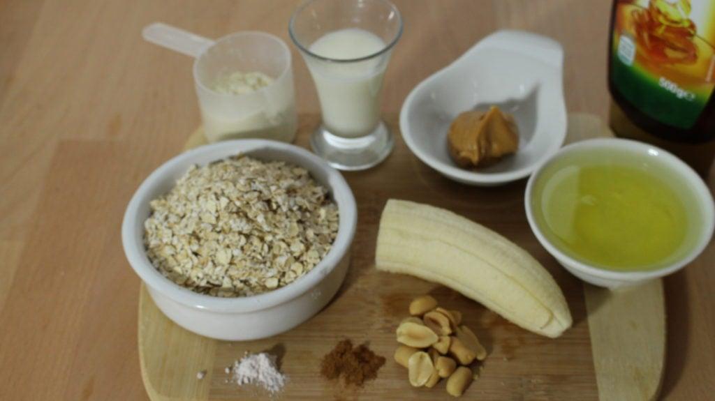 Der Protein Erdnuss Muffin