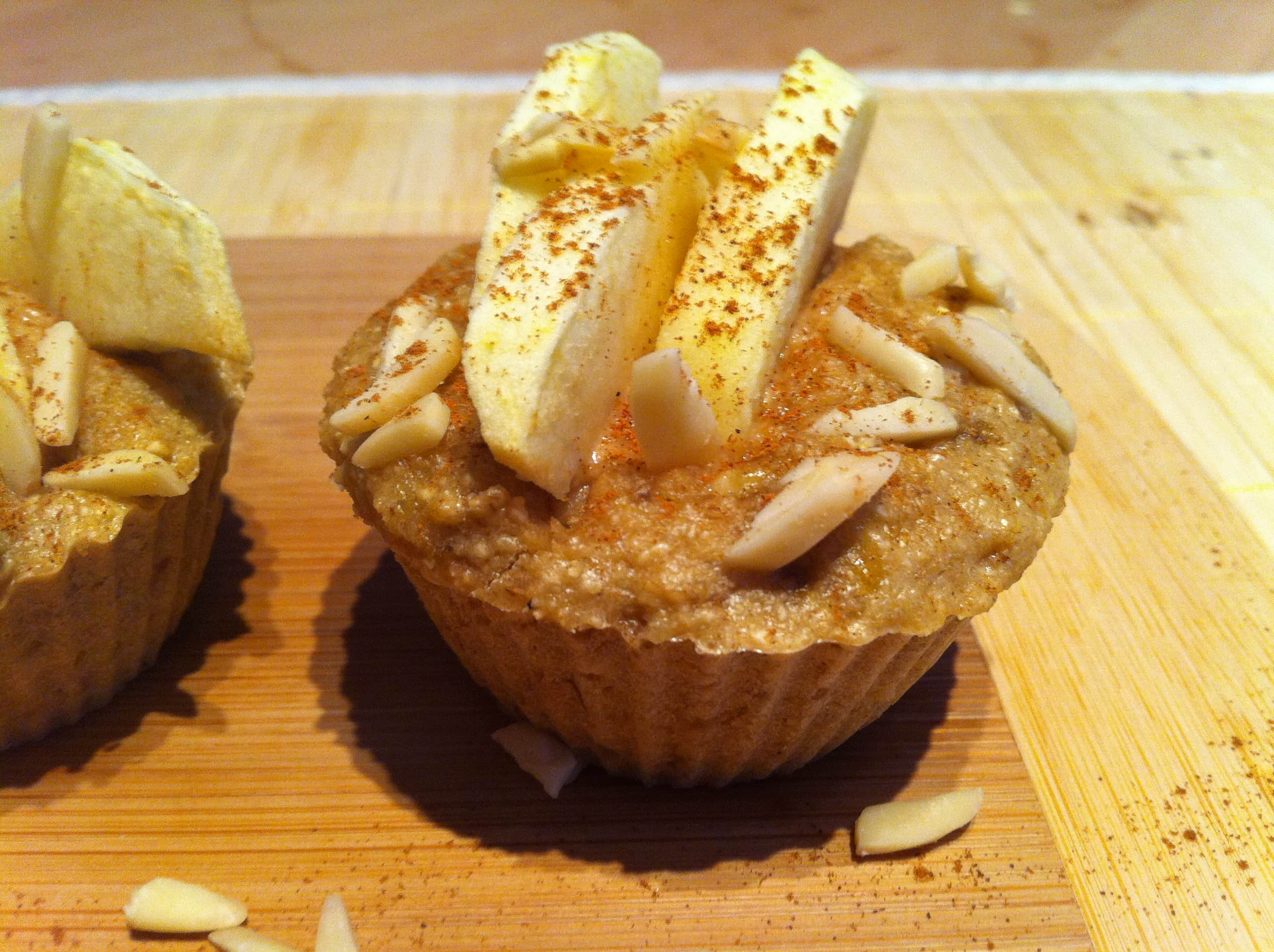 Der Power Protein Apfel Muffin