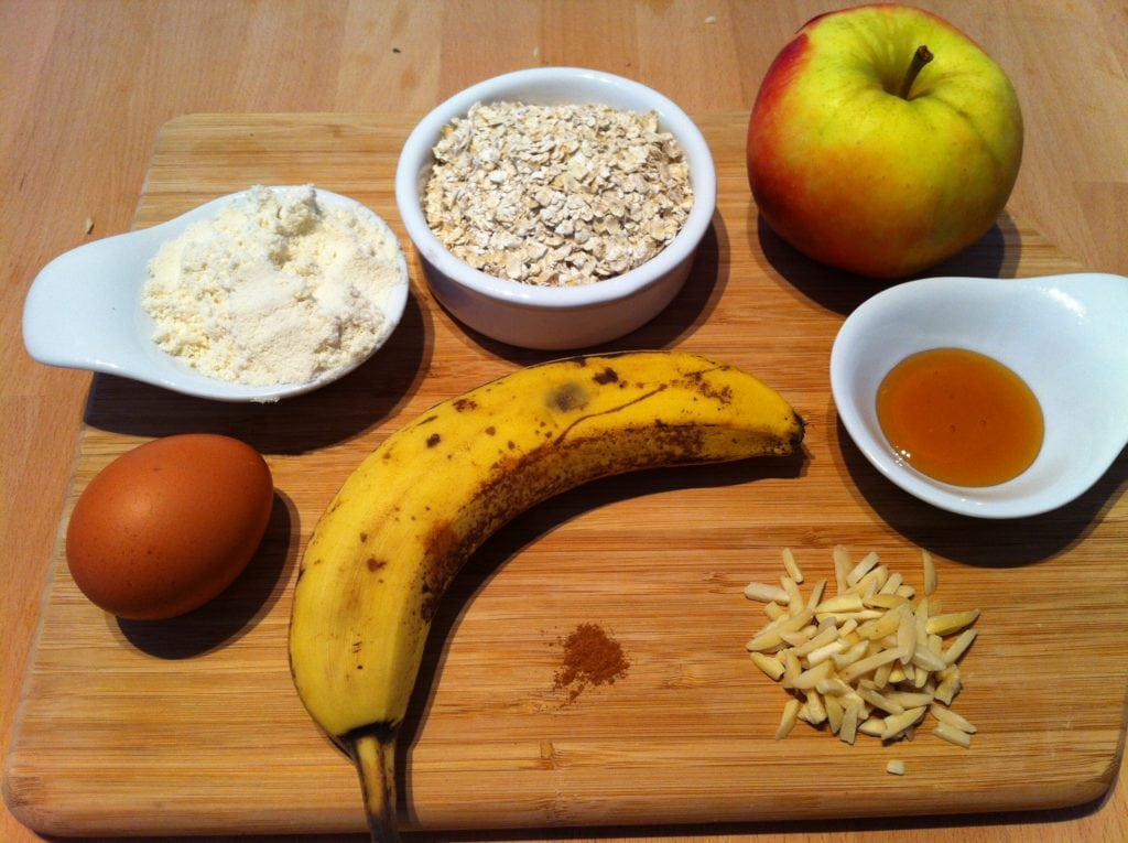 Der Power Protein Apfel Muffin1