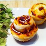 Der High Carb Pizza Muffin