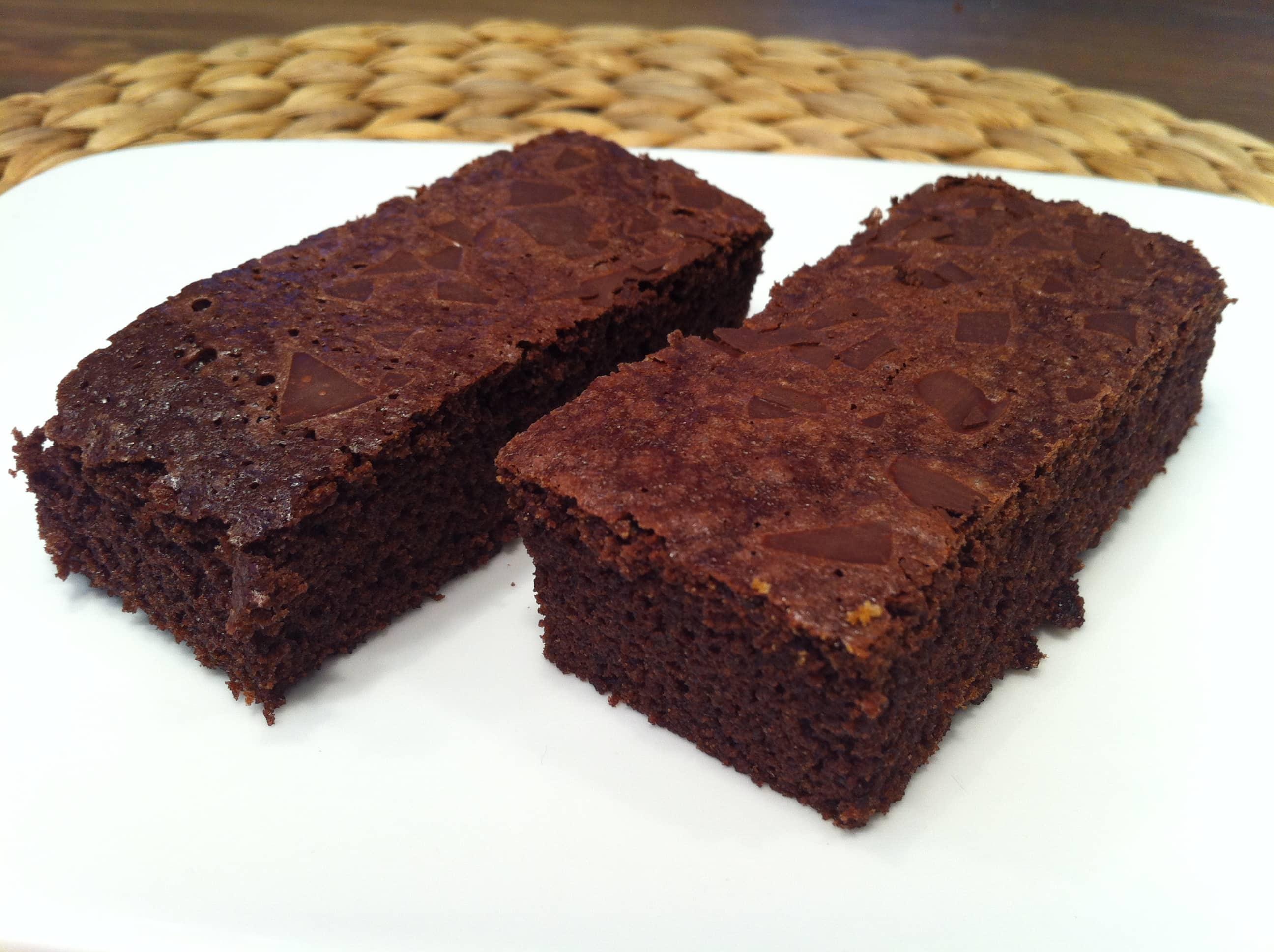 Die Protein Schoko Brownies