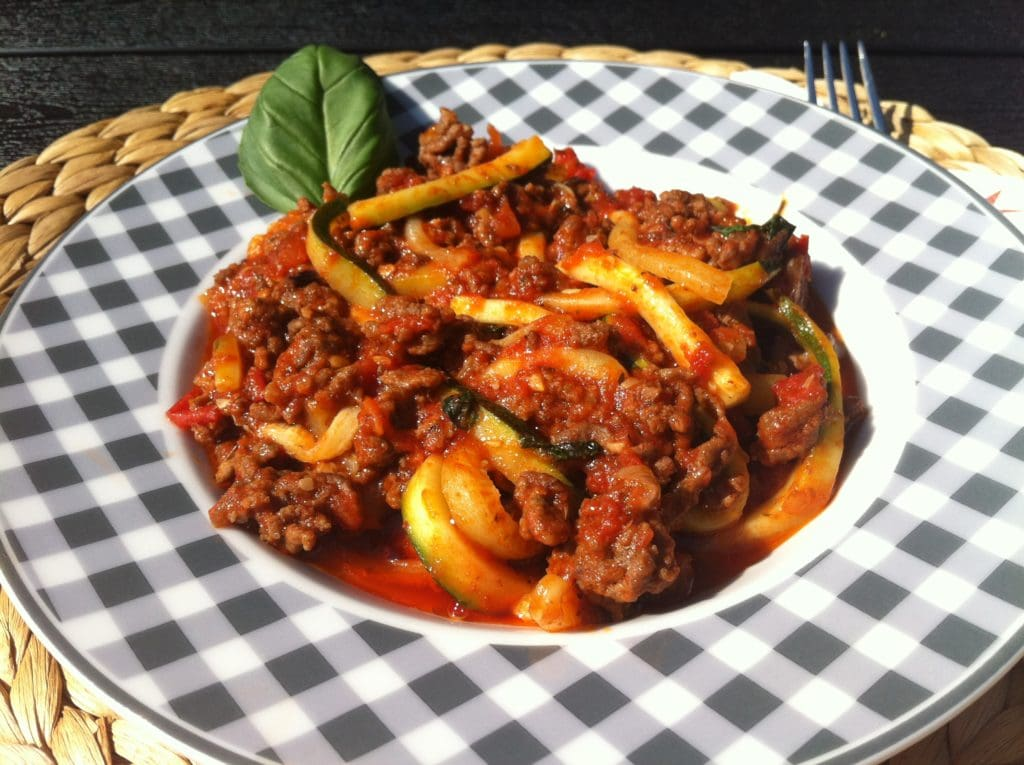 Die low carb Zucchini Nudeln1