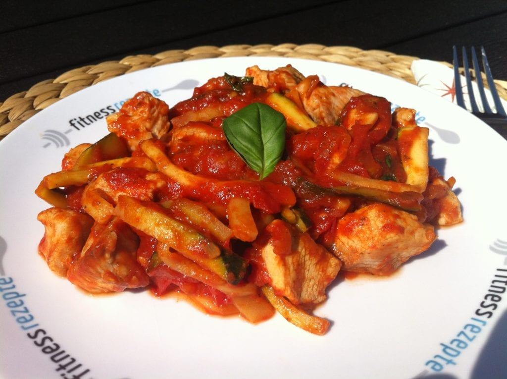Die low carb Zucchini Spaghetti