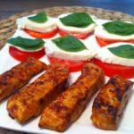 Die low carb self made Chili-Sticks mit Tomate-Mozzarella