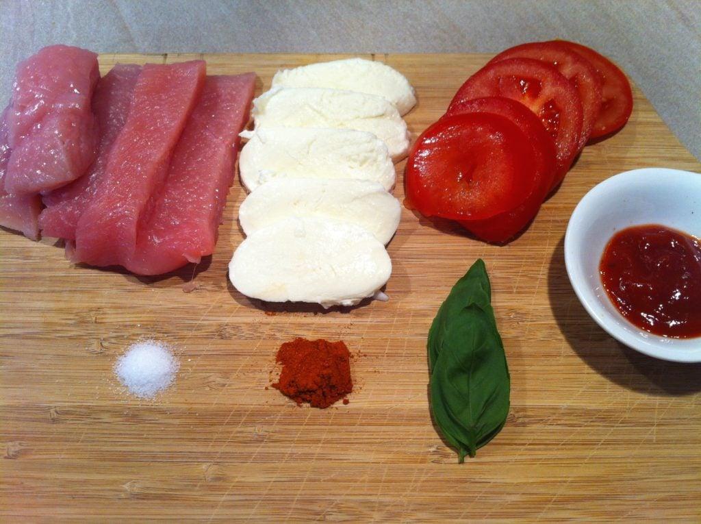 Der low carb self made Chili-Sticks mit Tomate-Mozzarella1
