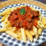 Die low fat Pasta mit der leichten Tomaten Sahnesauce