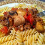 Die schnellen Bolognese Nudeln