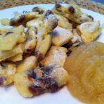 Der Protein Kaiserschmarren mit Apfelmus