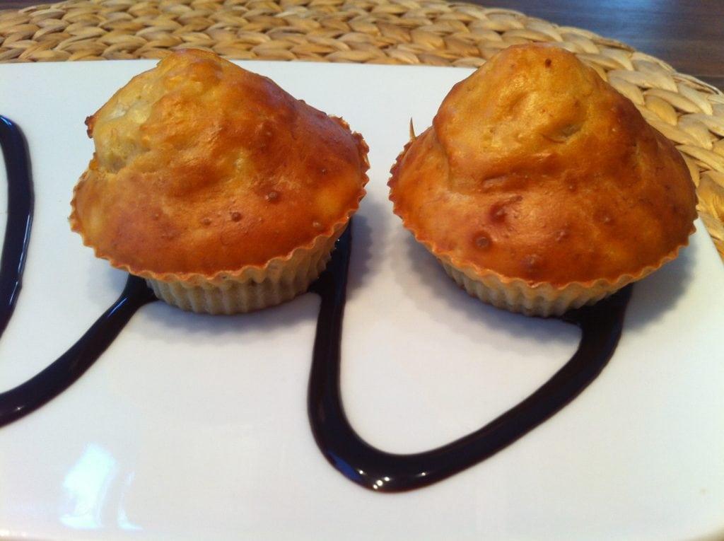 Der Vanille Protein Vollkorn Muffin