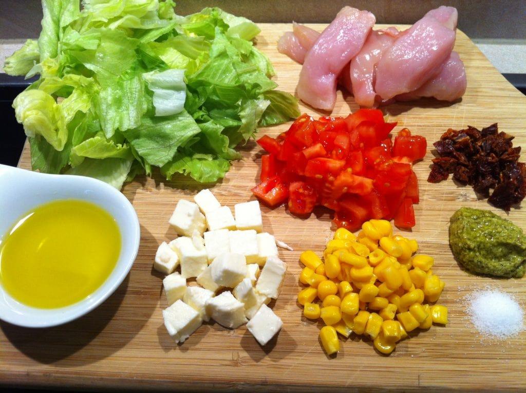Der gesunde Low Carb Salat1