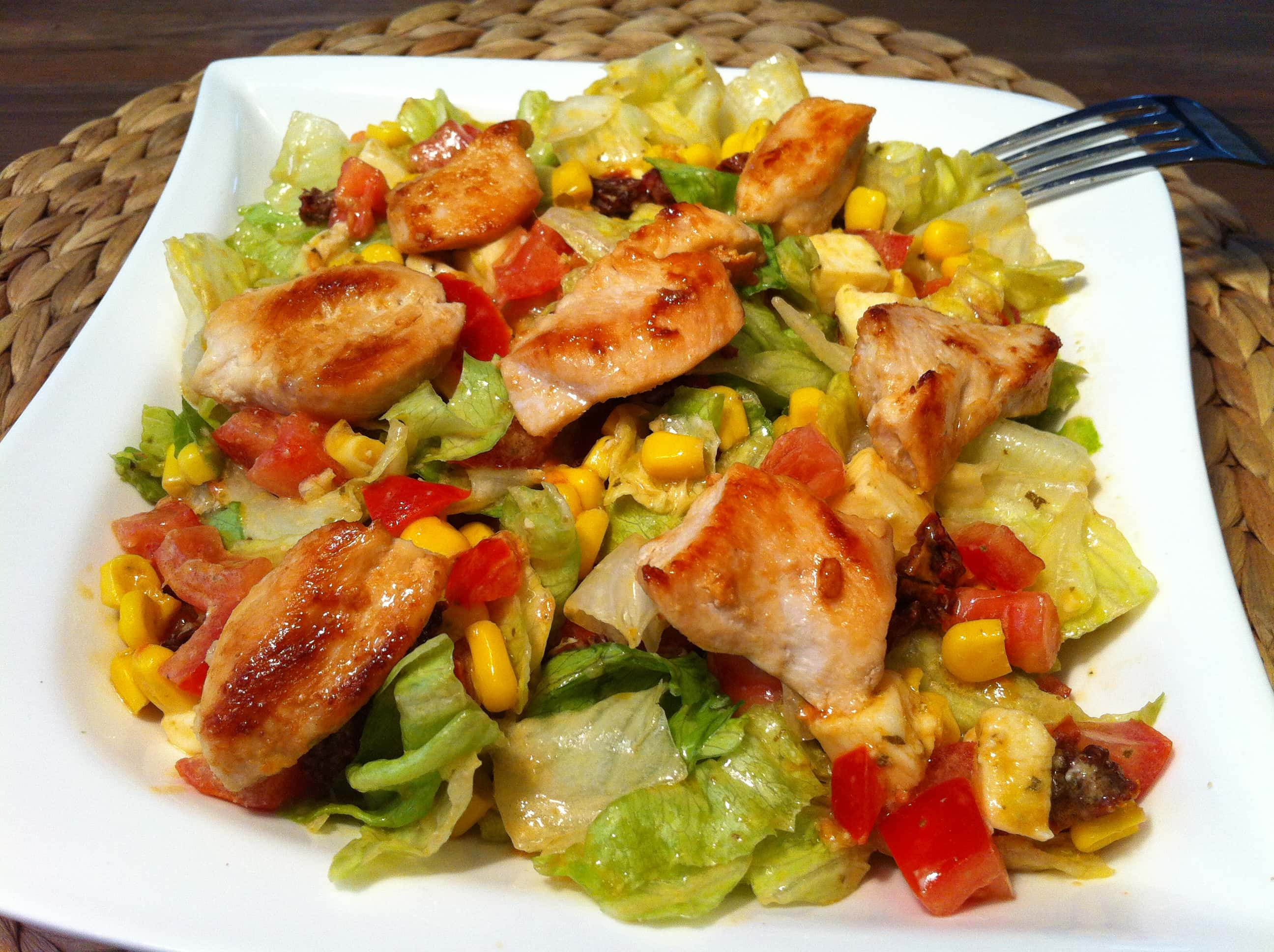 Der leckere Low Carb Salat