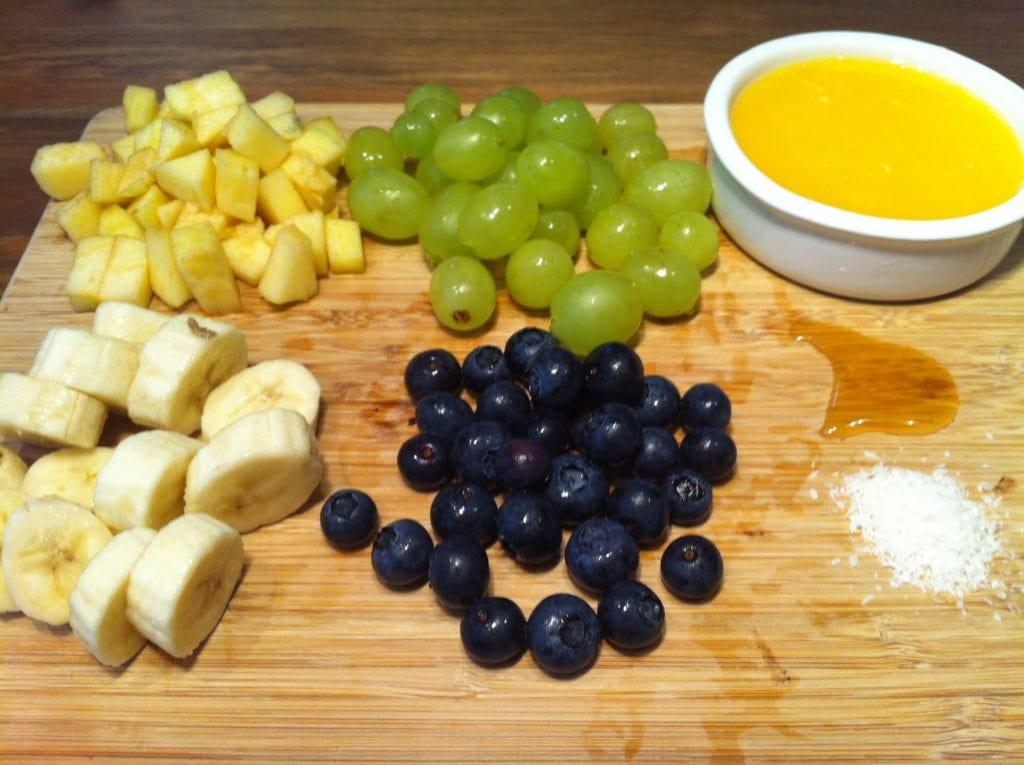 Der leichte low fat Obstsalat1