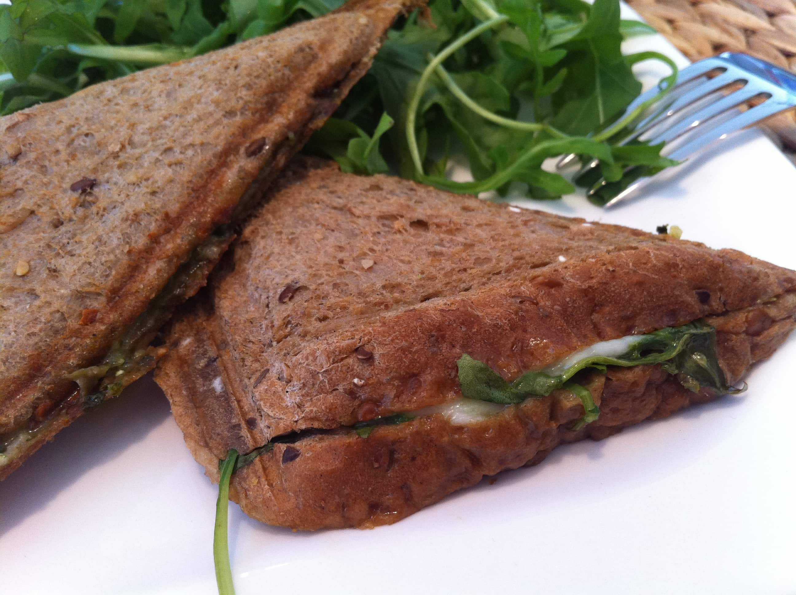 Das high-carb-rucola-sandwich