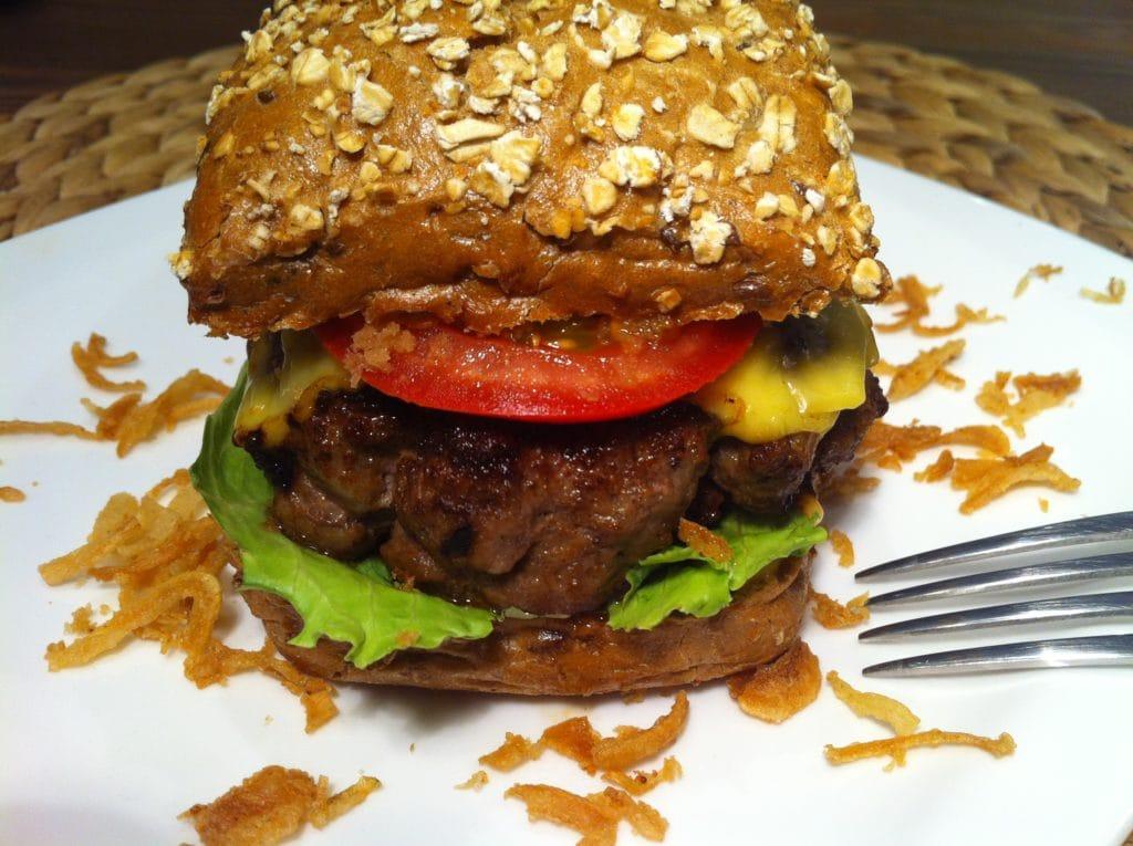 der gesunde-high-carb-burger