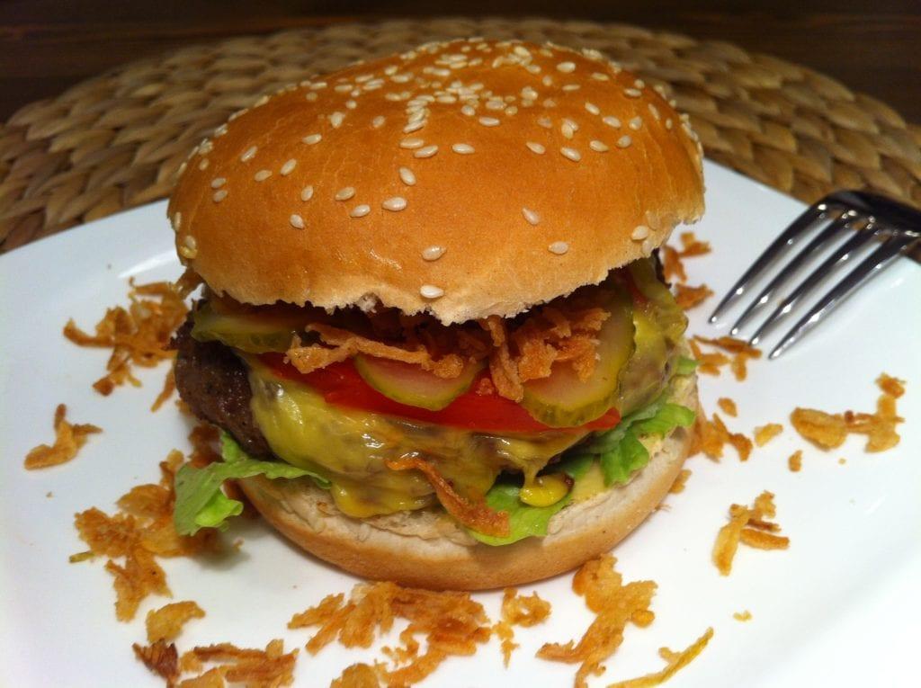 Der Chili Power Burger