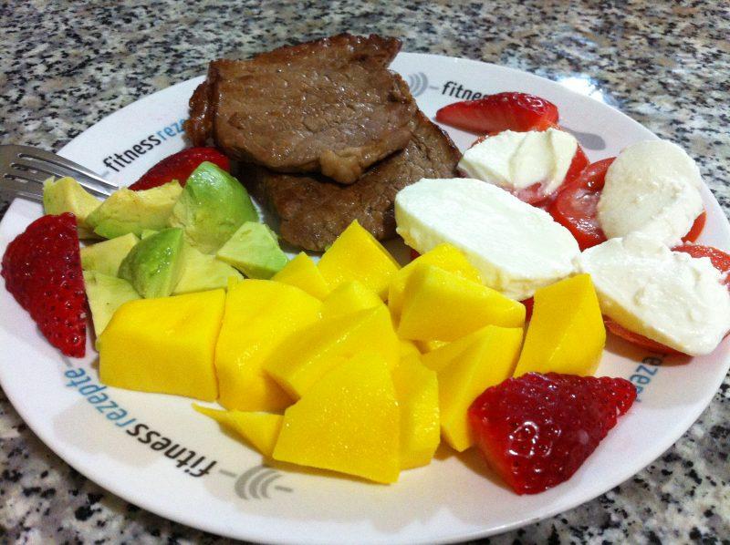 Der Vitaminteller mit dem Proteinschub