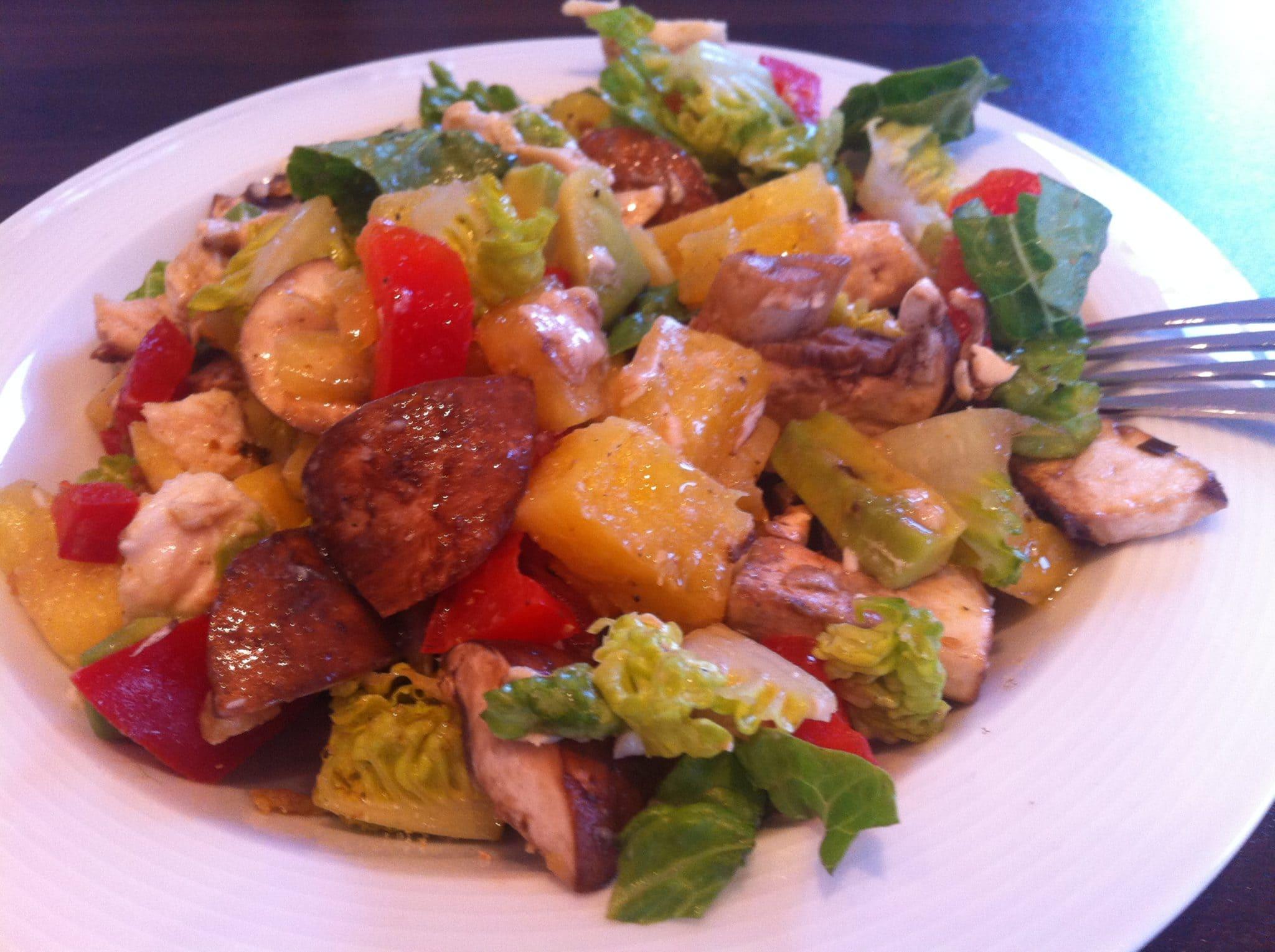 Der viaminreiche Salat mit dem fruchtigen Touch