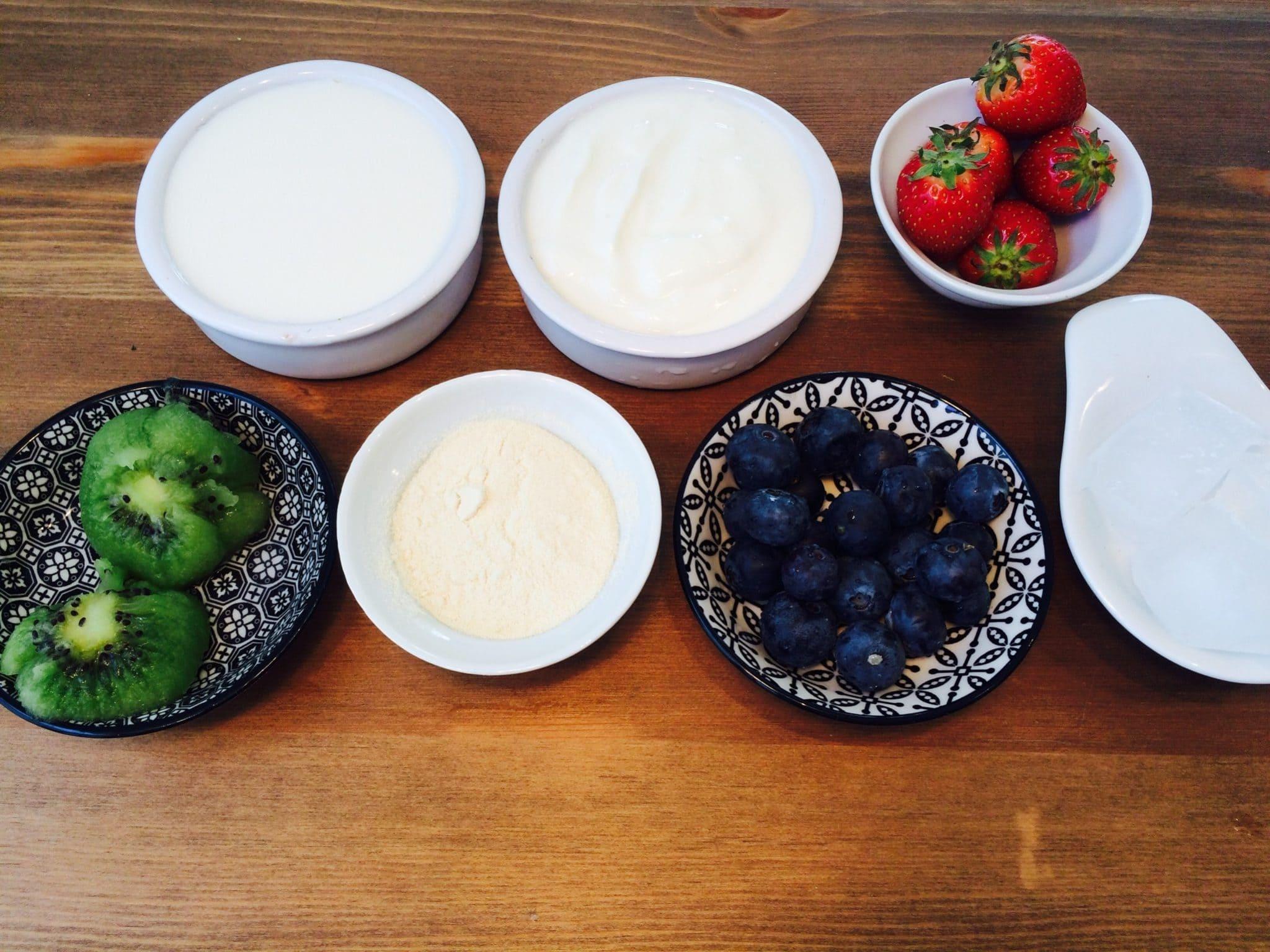 Der Kiwi Erdbeer Protein Shake1 Fitnessrezept