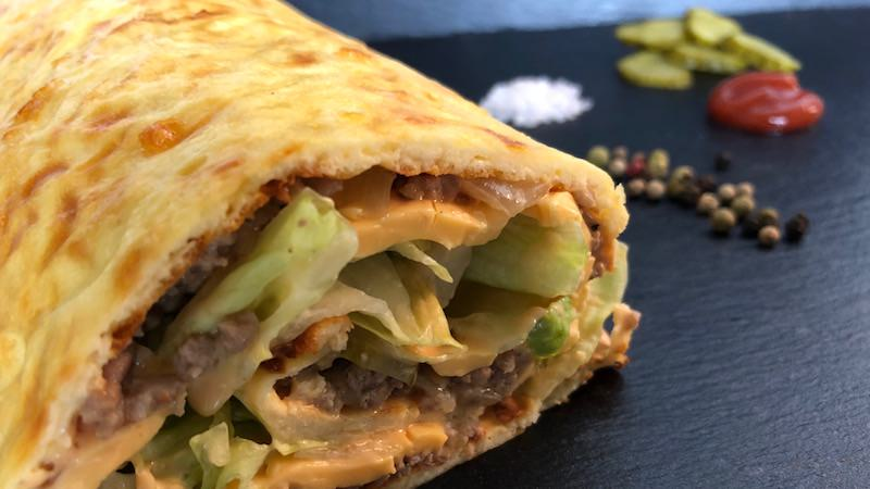 Low Carb Big-Mac-Rolle gesund