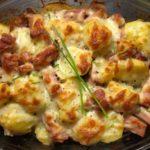 Kartoffelauflauf Kassler