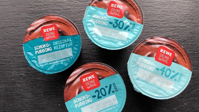 Rewe Deine Wahl Zucker Pudding Schokopudding Aktion