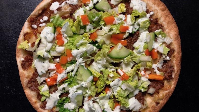 Türkische Pizza Salat Rezept Zubereitung
