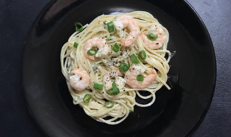 Garnelen Spaghetti
