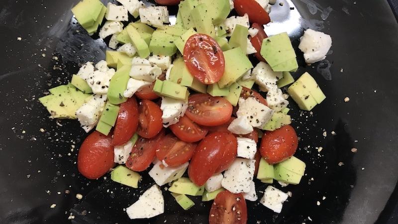 Avocado-Tomate