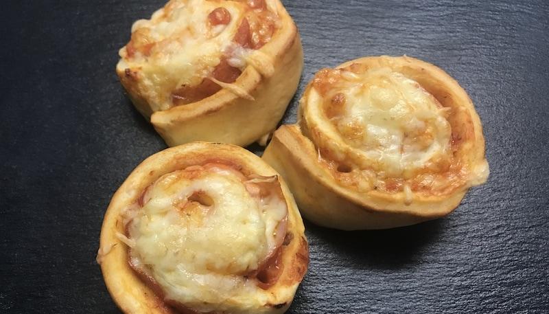 Low-Carb Pizzaschnecken