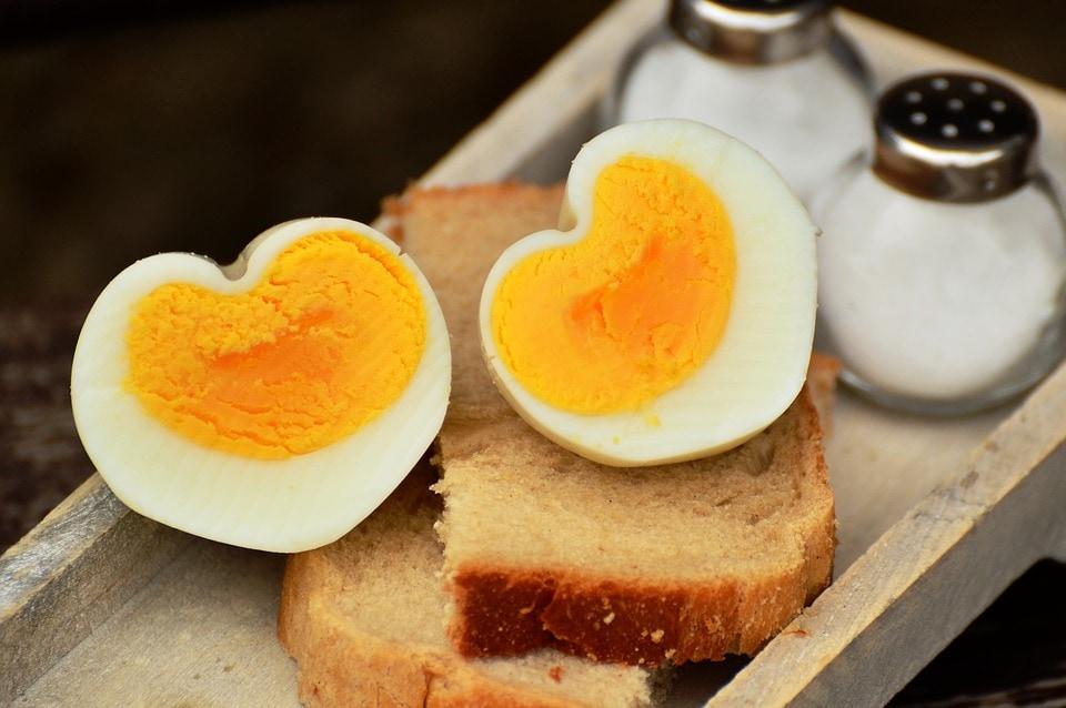 Vitamin-D-Lebensmittel, Ei, Hühnerei