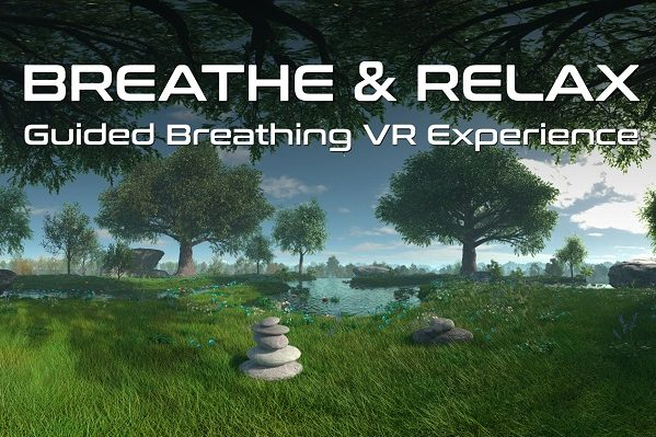 Breathe and Relax VR-Entspannungsprogramm Magenta VR App Telekom
