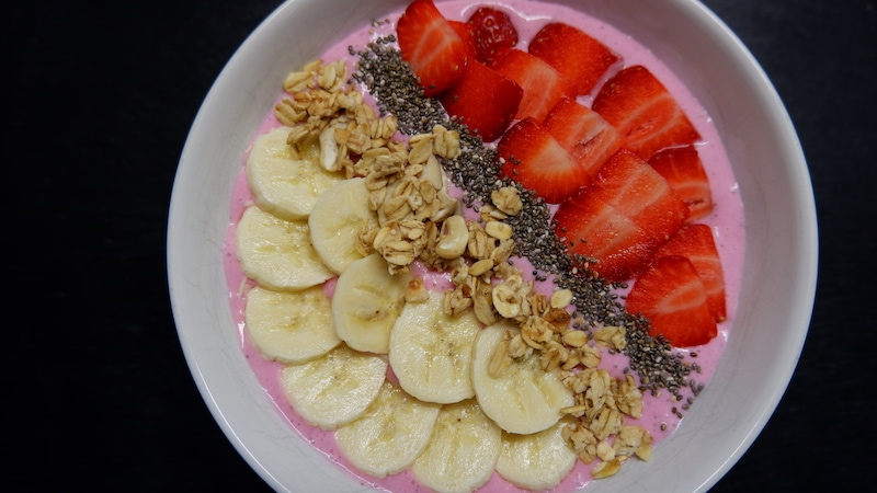 Smoothie-Bowl-proteinhaltig