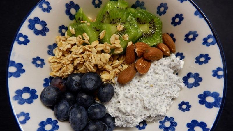 Frühstück-Buddha-Bowl