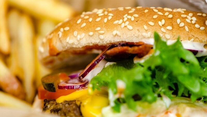Fast-Food, Burger, Pommes