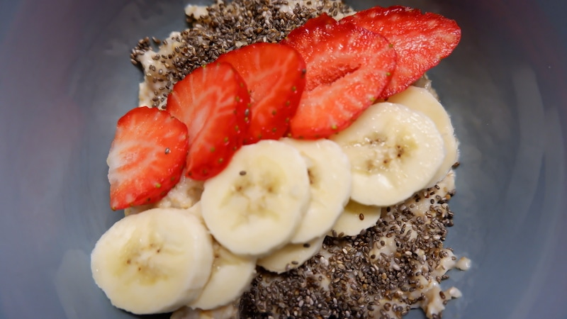 Bananen-Porridge
