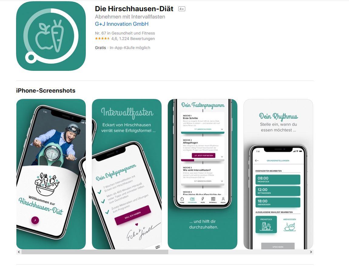 Fitness und Diät App