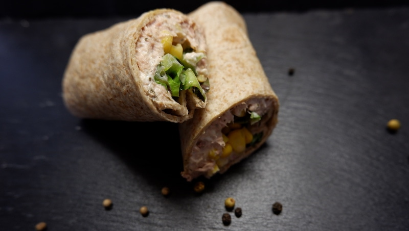 Wraps-Thunfisch-Mais