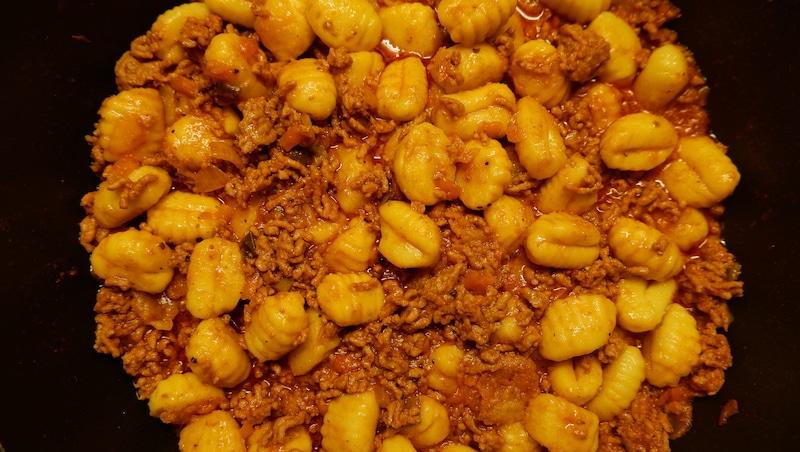 Gnocchi-Tatar-Soße