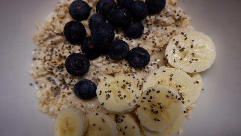 Frühstück-Abnehmen-Hafer-Chia