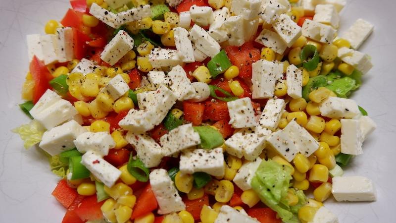 Leichter-Salat-Mais