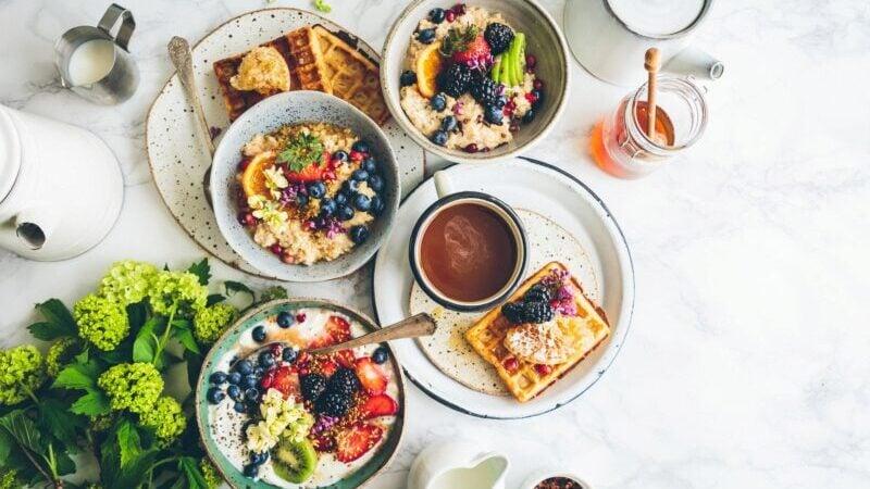 Vegan, Salat, Obst, Gesund, Vielfalt