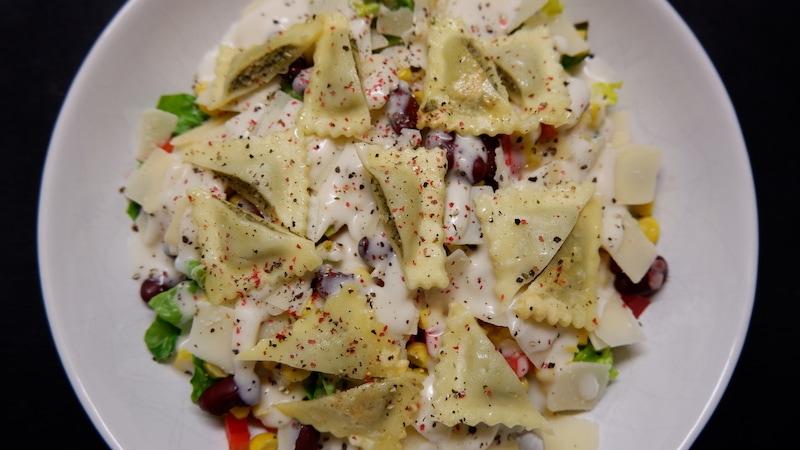 Salat-Maultaschen-reichhaltig