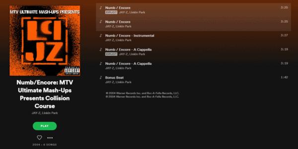 Spotify, Jay Z, Linkin Park